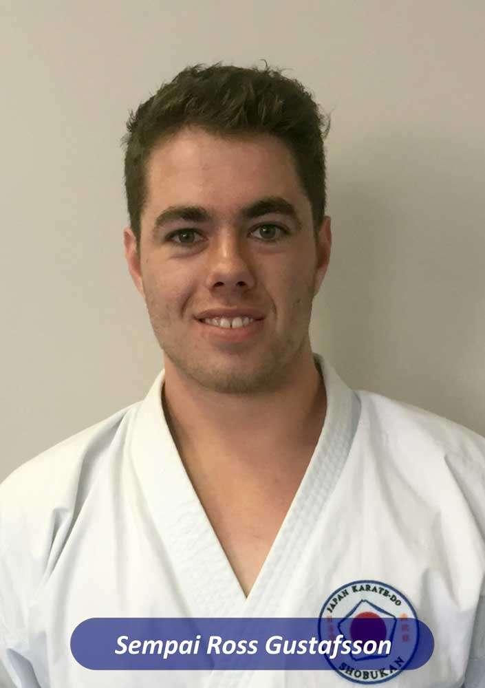 Sempai Ross- karate Perth instructor